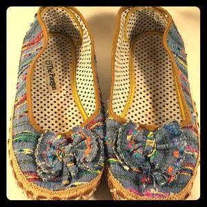 Womens True Vintage The Paragon Flats sz 7 Shoes